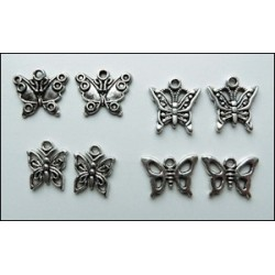 (JU0881)Marianne Design Charms butterflies