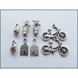 (JU0895)Marianne Design Charms dutch
