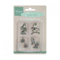 (JU0902)Marianne Design Charms winter