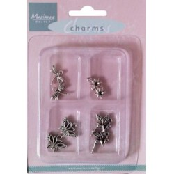 (JU0926)Marianne Design Charms fairy theme
