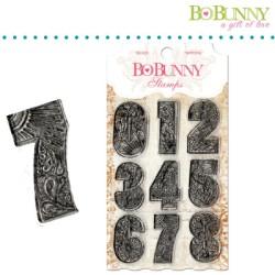 (10105030)Bo Bunny clear stamp 10x15,3cm countdown
