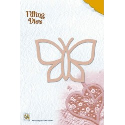 (QD004)Nellie's Filling Dies butterfly