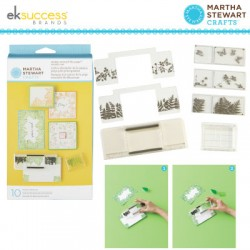 (24022)Martha Stewart stamp set around the page starter set