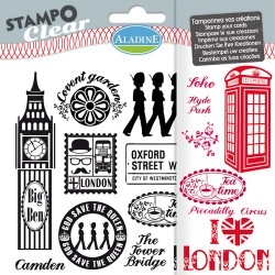 (04181)Stampo clear london