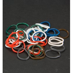 (6200/0842)Band It 600 rubberbands Christmas mix