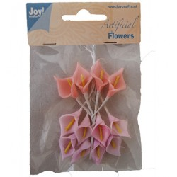 (6370/0055)Artificial Flowers 12p/3c
