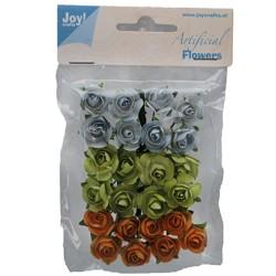 (6370/0054)Fleurs artificielles 24P/3C