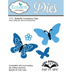 (SKU773)Steel Cutting Die Butterfly accessory