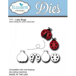 (SKU711)Steel Cutting Die Ladybugs