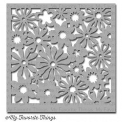 (ST-42)My Favorite Things Stencils Funky Florals