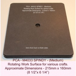 (PCA-M4033)SPINDY Rotating Work Surface (21.5 * 16cm)