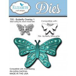 (SKU705)Steel Cutting Die Butterfly Overlay 1