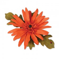 (659260)Thinlits Die Set 5PK - Flower, Gerbera Daisy