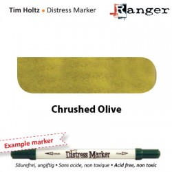 (TDM32502)Tim Holtz distress marker crushed olive