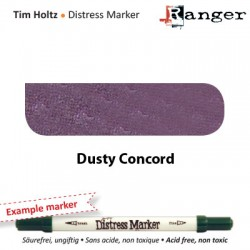 (TDM32526)Tim Holtz distress marker dusty concord