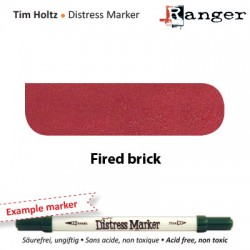 (TDM32540)Tim Holtz distress marker fired brick