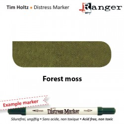 (TDM32557)Tim Holtz distress marker forest moss