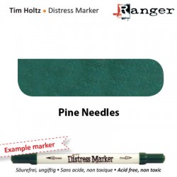 (TDM32618)Tim Holtz distress marker pine needles