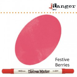 (TDM38191)Tim Holtz distress marker festive berries