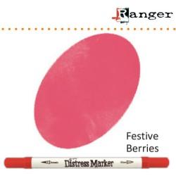 (TDM38191)Tim Holtz distress marker festive berries