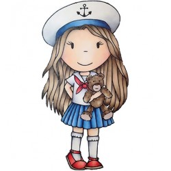 (PND2383)Paper Nest Dolls Nautical Ellie