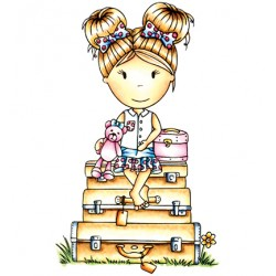 (PND2054)Paper Nest Dolls Bon Voyage Emma