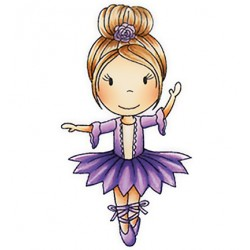 (PND1150)Paper Nest Dolls Ballerina Ellie