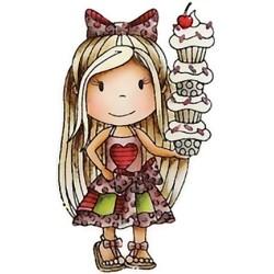(PND1301)Paper Nest Dolls Cupcake Ellie