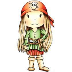 (PND2014)Paper Nest Dolls Pirate Avery