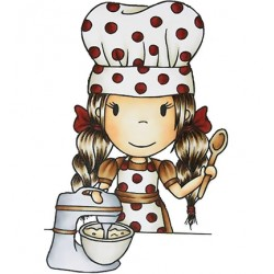 (PND7001)Paper Nest Dolls Chef Angelina