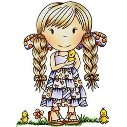 (PND2052)Paper Nest Dolls Little Chick Ellie