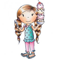 (PND2354)Paper Nest Dolls Ice Cream Avery
