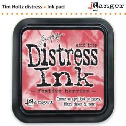 (TIM32861)Distress Ink Pad pad festive berries