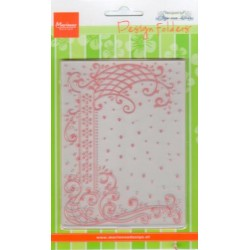 (DF3405)Marianne Design Folder Anja's decorative border