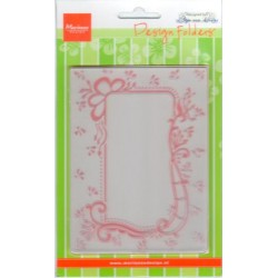 (DF3406)Marianne Design Folder Anja's decorative rectangle