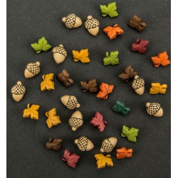 (6380/0513)Band-it - oak leaf and acorns