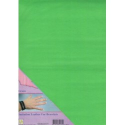 (ILFB012)Nellie`s Choice A4 imitation leather sheet green