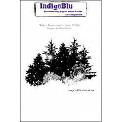 (IND0120)IndigoBlu Winter Wonderland A6 Rubber Stamp