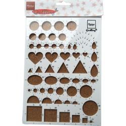 (FG2401)Marianne Design Quilling Board