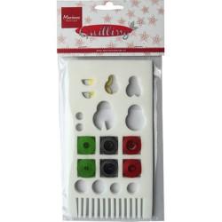 (FG2412)Marianne Design Quilling Lady Bug set