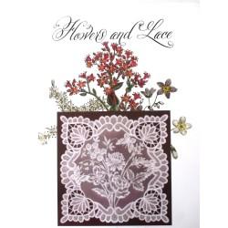 (JR1401)Julie Roces Flowers and Lace Series No 1