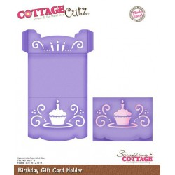 (CX-021)Scrapping Cottage Birthday Gift Card Holder