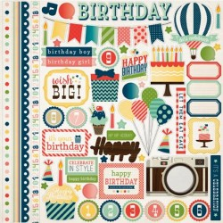 (CB-IC24014)Carta Bella It's A Celebration 12x12 Inch Element St