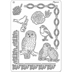Pergamano Multi grid 42 Owls (31472)