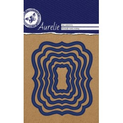 (AUCD1015)Aurelie Rectangle Waves Nesting Die