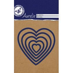 (AUCD1013)Aurelie Heart Nesting Dies