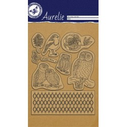 (AUCS1004)Aurelie This Is The Season 2 Clear Stamps