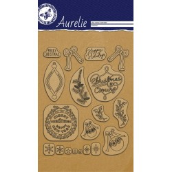 (AUCS1003)Aurelie This Is The Season 1 Clear Stamps