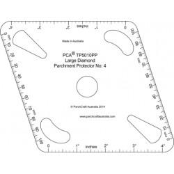 (TP5010PP)LARGE Diamond Parchment Protector No. 4