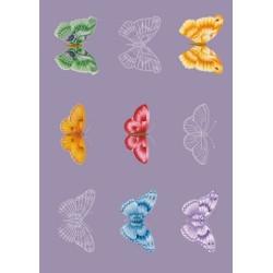 Pergamano vellum Butterflies (25S)